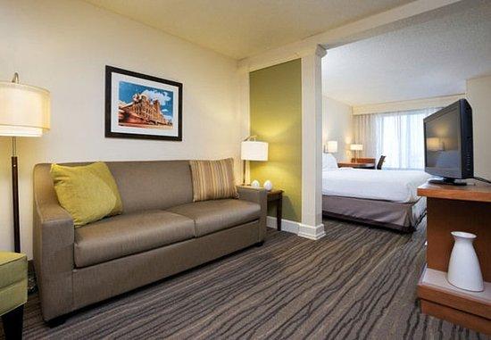 Eden Prairie, MN: King Suite - Living Room