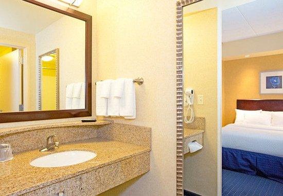 Tarentum, Pensilvanya: Suite Bathroom