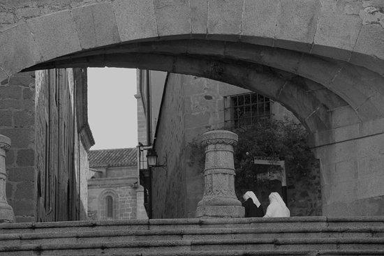 Province of Caceres, Espagne : el arco del triunfo