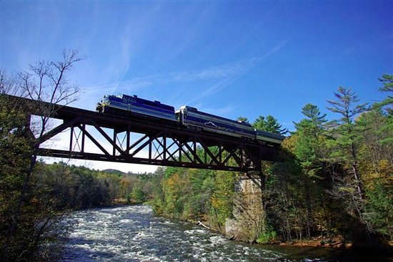 Saratoga Springs, NY: Our passenger service harkens back to the days when train travel was sophisticated and elegant.