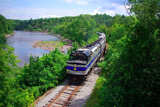 Saratoga and North Creek Railway: Our trains carry passengers along the Hudson River for a truly unique view of the Adirondacks.