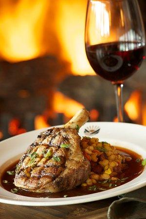 Stevenson, WA: Skamania Dining Beef Wine and Fire