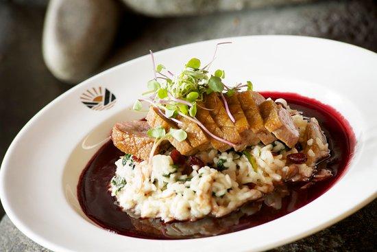 Stevenson, Waszyngton: Skamania Dining Delicious Cuisine