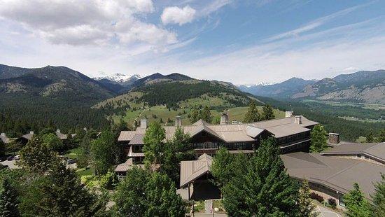Winthrop, Waszyngton: Sun Mountain Lodge mountaintop