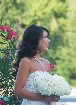 Chevy Chase, MD: Outdoor Wedding Ceremony
