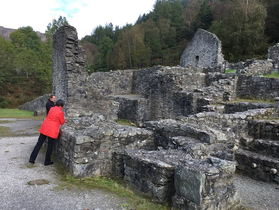 Llanidloes, UK: Ruins of Bryntail