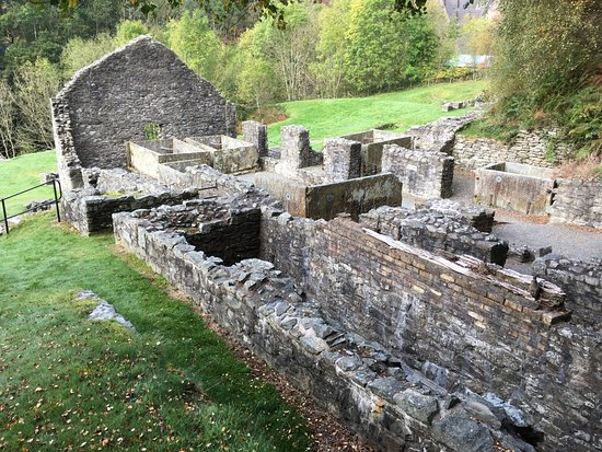 Llanidloes, UK: This is the drying building to separate Barium for white to add to paint (lead).