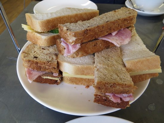 Chartham, UK: Sandwiches