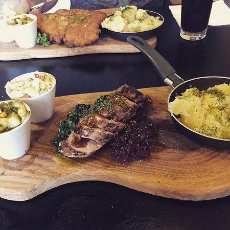 Maidenhead, UK: Pork Loin & Spinach