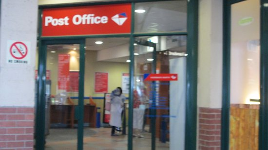Greater Johannesburg, Sudáfrica: post office