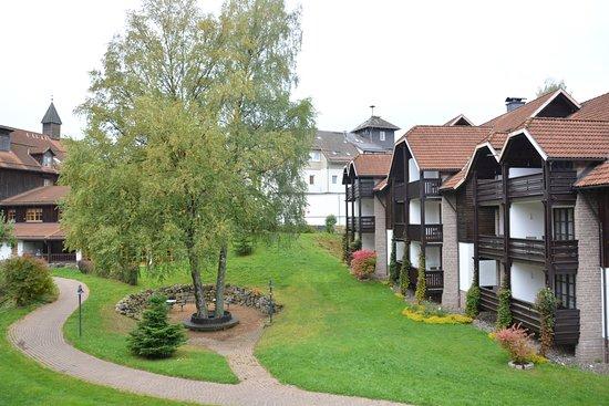 Hapimag Resort Braunlage: Uitzicht vanaf ons balkon