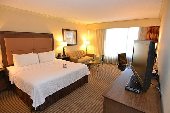 Wyomissing, PA: Executive King Tower.  Crowne Lounge access included.