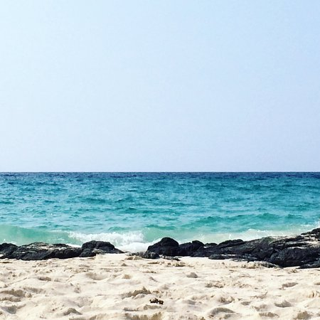Manini'owali Beach (Kua Bay): The view from my beach towel