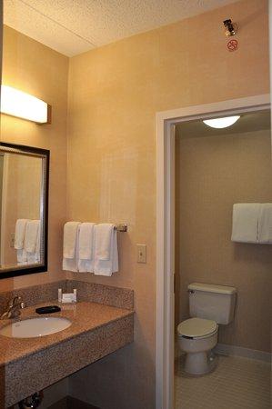 Courtyard Herndon Reston - King Room - Looking Toward Sink and Bathroom