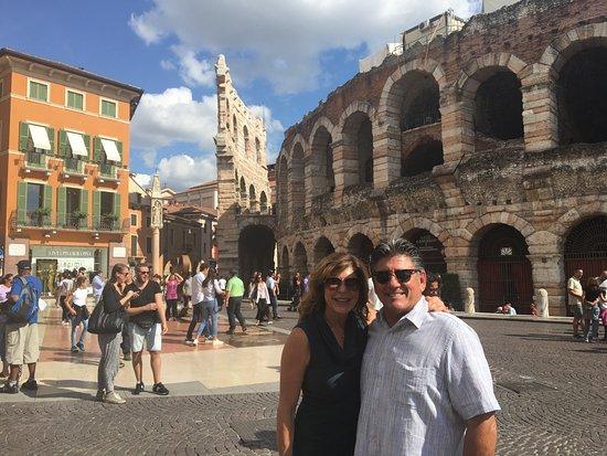 Montalcino, Italia: Our stop in Verona