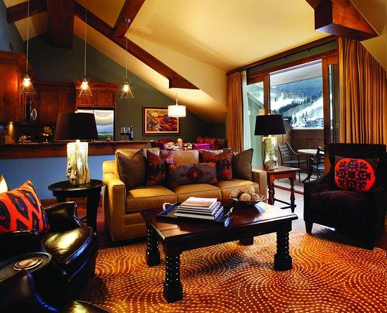 The Sebastian - Vail: Residential Suite LivingRoom