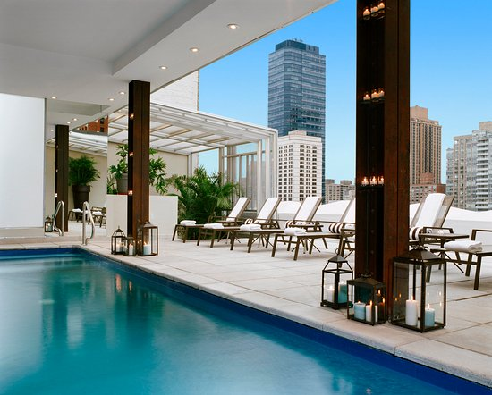Rooftop Pool at Empire Hotel NewYork