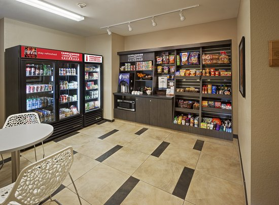 Southfield, MI: Candlewood Cupboard open 24/7 for your convenience!