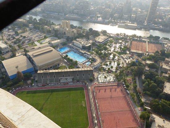 Zamalek (Gezira Island): View from Cairo Tower