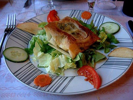 Livarot, France: croquant au fromage de normandie