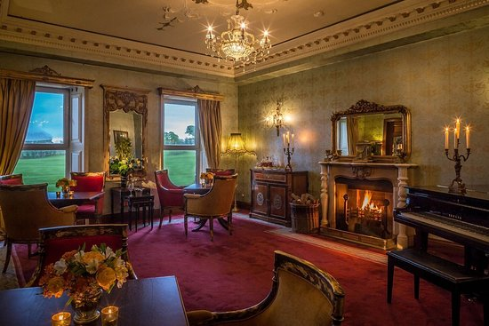 Bushypark, Ierland: Ffrench Room - Glenlo Abbey Hotel Lounge