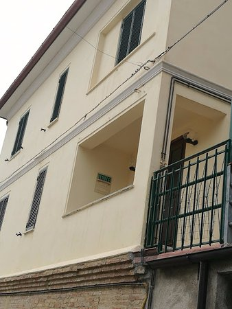 Poggio Bustone, Itálie: casa di Lucio Battisti