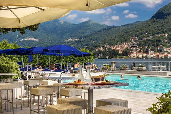 Grand Hotel Imperiale : Swimming Pool Bar Lake Como