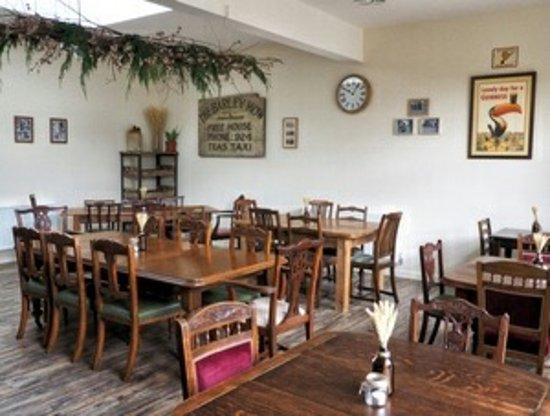 Освестри, UK: New extension dining room