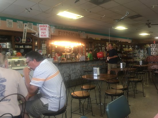 Foley, AL : Stacey Rexall Drugs & Old Tyme Soda Fountain