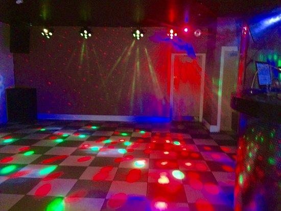 Ellesmere Port, UK: Inside club xes.