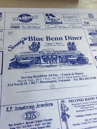 Bennington, VT: Serving Breakfast all day