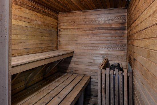 Fernie, Canada: Sauna