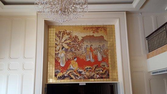 Indochine Palace: lobby art