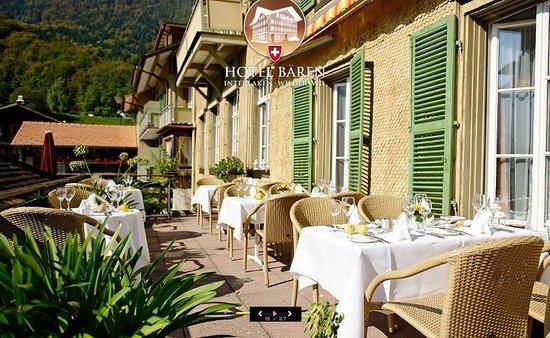 Wilderswil, İsviçre: Terrace Bar