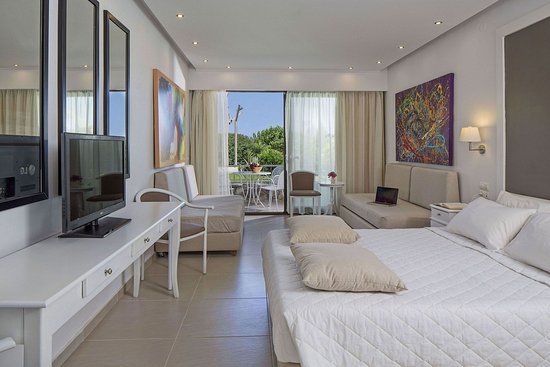 Vasilias, Yunani: Family Room Sea View