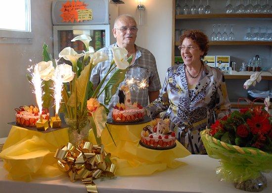 Saone-et-Loire, Francia: 50 ans de mariage pour ces clients