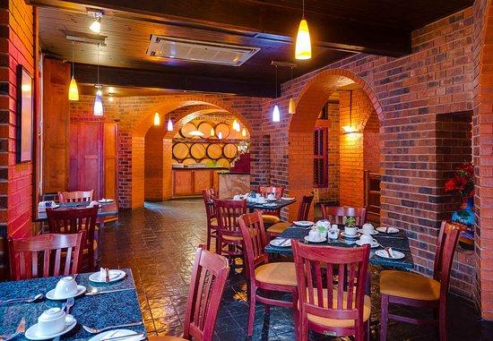 Empangeni, Νότια Αφρική: De Hoff Cellar Restaurant