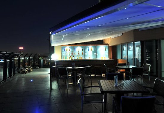 Braamfontein, Sudáfrica: Rooftop Bar