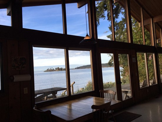 Eastsound, WA: View from the Beachcomber