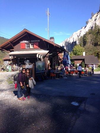 Иланц, Швейцария: Wanderweg Rheinschlucht von Valendas-Sagogn nach Versam-Safien