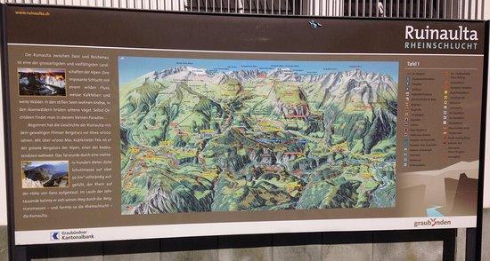 Иланц, Швейцария: die Rheinschlucht