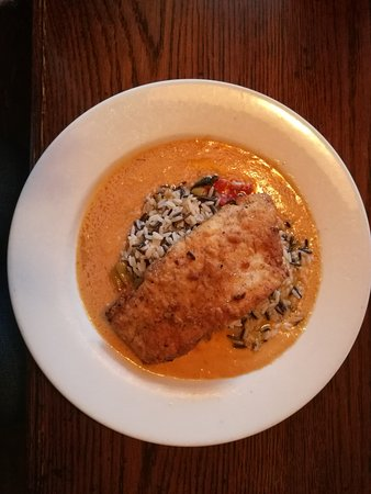 Sellersville, PA: Lemon Hazelnut Crusted Trout
