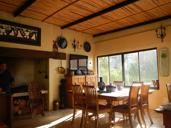 Bellville, South Africa: Eating area