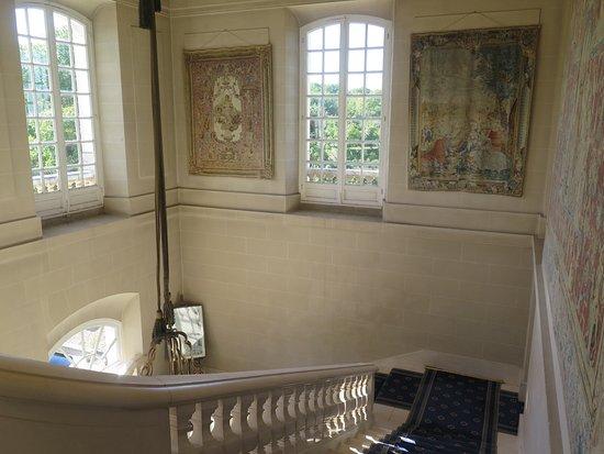 Montbazon, Francja: nur im ersten Stock war etwas vom Chateau zu spühren
