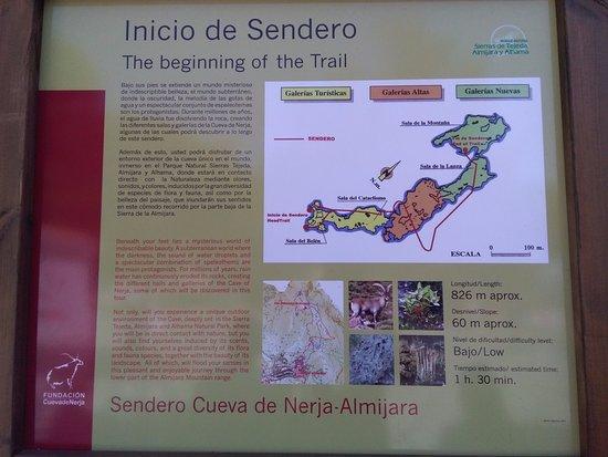 Cueva de Nerja: sentiero esterno