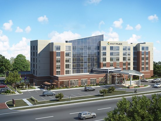 Round Rock, TX: Early rendering of our Hyatt Place before our official opening!