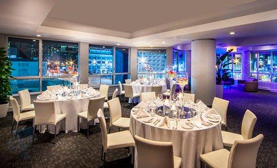 Hotel Le Crystal: De La Montagne Banquet