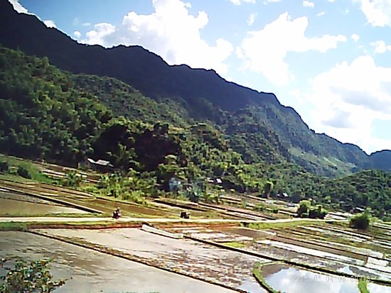 Mai Chau, Wietnam: The peacefull view from our lodge