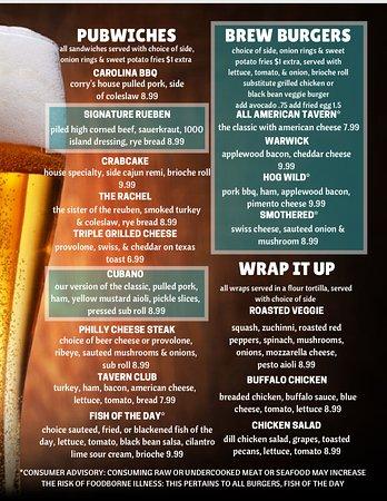 Newport News, VA: more of our menu