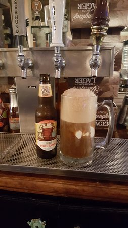 Newport News, VA: Our Adult floats also available in Henery's orange soda